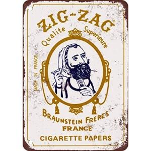 """""""Zig-Zag"""" Metal Sign"""