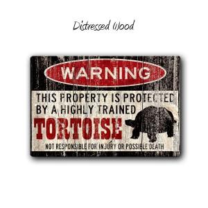 """Warning"" Funny Metal Signs"