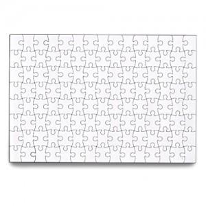 """SanShun Blank"" Puzzle 120 Pieces (6-Pack)"