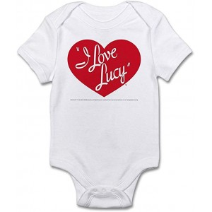 """Love  Lucy"" Infant One-Piece Bodysuit Romper Best Gift for Baby, White, 0–3M"