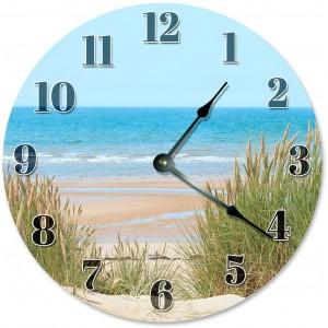 """""""Beach""""""""Dunes"""" Wall Clock,Round"""