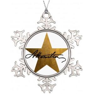 """Star""""Christmas""""Snowflake"" Metallic Souvenirs, 3.15 Inch"