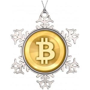 """""""bitcoin"""" Metallic Souvenirs, 3 Inch"""