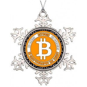 """Bitcoin""""Yellow"" Metallic Souvenirs, 3 Inch"