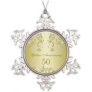 """Anniversary"" Metallic Souvenirs, 3.15 Inch"
