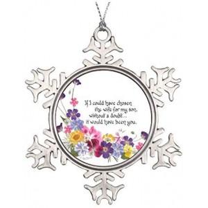 """Flowers"" Metallic Souvenirs,3.15 Inch"