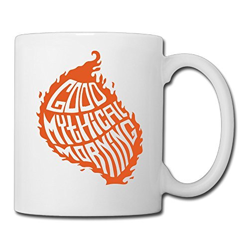 """Mythical Morning"" Customize Insert Photo Print Mug White 11oz"