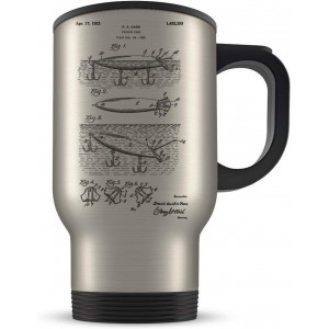 """""""Fish"""" Mechanic Coffee Cup, Travel Mug"""