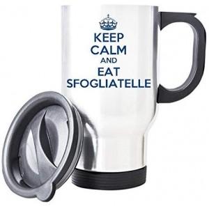 """Sfogliatelle"" Mechanic Coffee Cup, Travel Mug, 14 Oz"