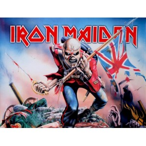 """""""Maiden Trooper"""" Large Fabric Poster 40"""" x 30"""""""
