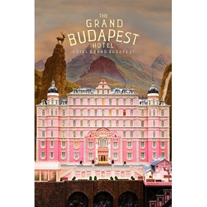 """""""The Grand Budapest Hotel"""" Customized Silk Print Poster 24"""" x 36"""""""