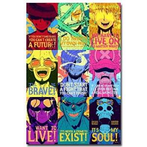 """Anime Art"" Customized Silk Print Poster 24"" x 36"""