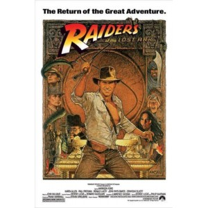 """""""RAIDERS OF THE LOST ARK"""" Customized Silk Print Poster 24"""" x 36"""""""