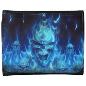 """Skulls Design"" Wallet For Man, 5.51x4.13x0.87"""