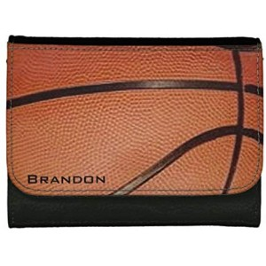 """Basketball"" Wallet For Man, 4.72x3.74x0.79"""