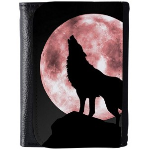 """Wolf"" Wallet For Man, 5.51x4.13x0.87"""