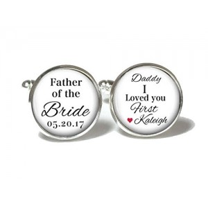 Personalized Cufflinks For Mens Gift (A pair)