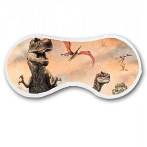 """""""Realistic Dinosaurs World"""" Deep Rest Sleep Mask Cotton Blends Eye Masks 7.5""""x4.7"""""""
