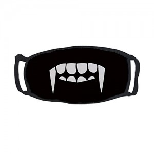 """""""Vampire Teeth """"Outdoor Protective Cotton Face Mouth Mask"""