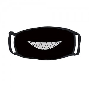 """""""Smiling Cartoon Teeth"""" Outdoor Protective Cotton Face Mouth Mask"""