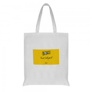 """""""volleyball"""" Double-sided printing  Cotton and linen Tote Bag 15""""X16"""""""