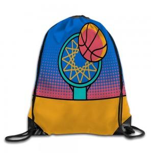 """Basketball and box"" Drawstring Bags 14.2""x 17"""