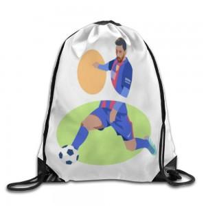 """football"" Drawstring Bags 14.2""x 17"""