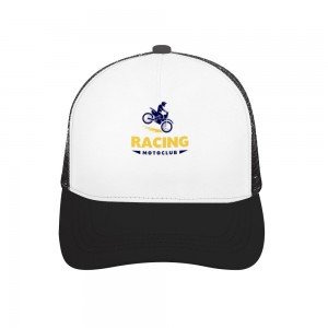 """""""RACING"""" Adult bend rubber baseball cap hollow out"""