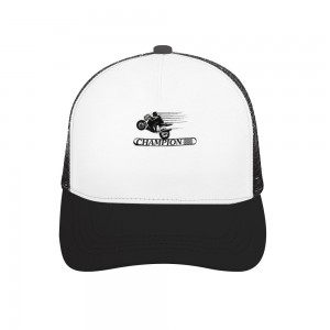 """""""motorcycle"""" Adult bend rubber baseball cap hollow out"""