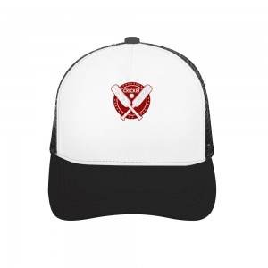 """""""CRICKET"""" Adult bend rubber baseball cap hollow out"""
