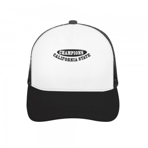 """""""CHAMPIONS"""" Adult bend rubber baseball cap hollow out"""