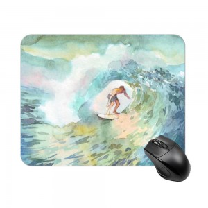 """surf"" Create your own Rectangle mouse pad"