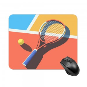 """tennis"" Create your own Rectangle mouse pad"