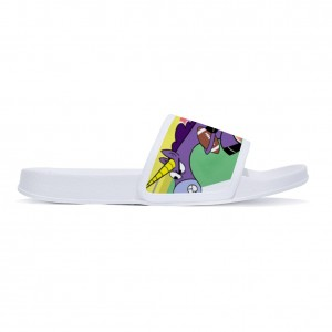 """unicorn"" slippers for children White color"
