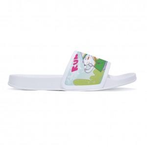 """""""Running rabbit"""" slippers for children White color"""