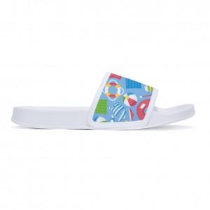 """Swimming ring"" slippers for children White color"