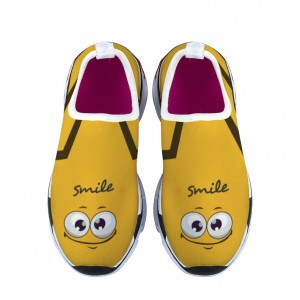 """""""smile"""" yellow Children's sports shoes"""