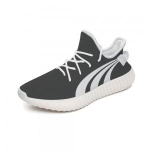 """3 white lines"" 350V2 Coconut Sports Shoes Dark Gray"