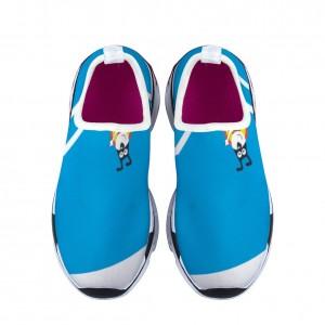 """Happy puppy"" blue Children's sports shoes"
