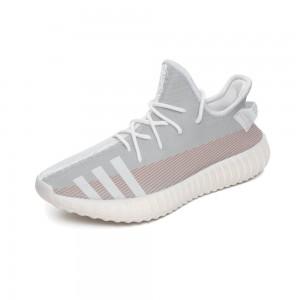 """3 grey bars"" 350V2 Coconut Sports Shoes Gray"