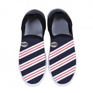 """Red diagonal stripes"" Adult Men's Sports Shoes"