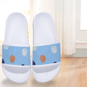"""Baketball""  Slides for Children White"