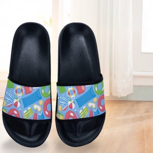 """Cartoon""  Slides for Children black"