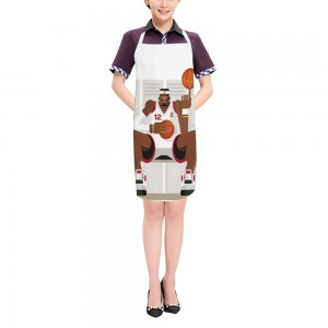 """Basketball"" Adult apron 27.5"" x 31.5"""