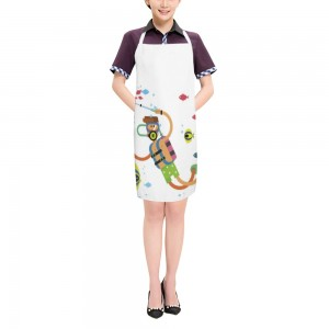 """Cute"" ""Diving"" Adult apron 27.5"" x 31.5"""