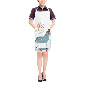"""Cute""  Adult apron 27.5"" x 31.5"""