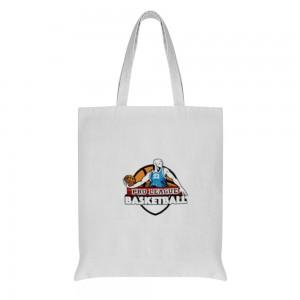 """""""Basketball""""  Cotton and linen Tote Bag"""