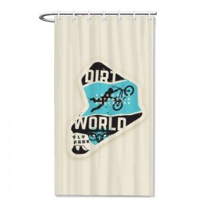 """Sport""  Bath/Shower curtain"