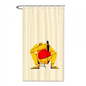 """Baseball""Bath/Shower curtain"