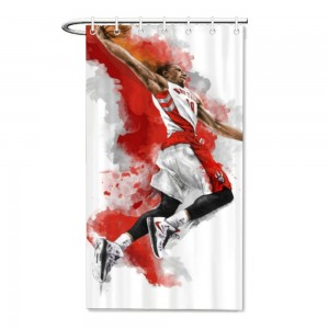 """Basketball"" Bath/Shower curtain"
